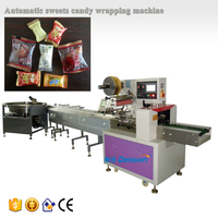 sweets candy confectionery packing machine with auto feeding system