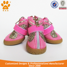 JML Fashionable Mesh Dog Walking Boots for Sale Pet Dog Sport Shoes