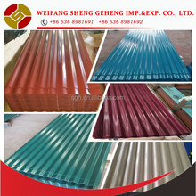 Barn metal roofing materials
