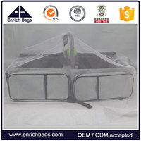 Enrich Foldable Portable Travel Baby Carry Cot with Mosquito Netting Bar