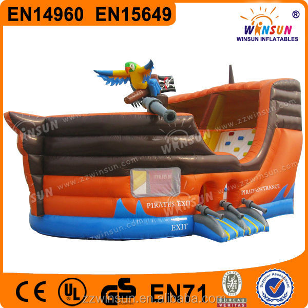 New arrival cheap pirate ship hot jolly jumper for adults