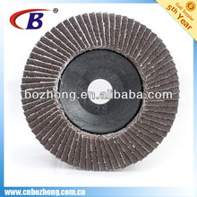 Aluminum Flap Disc With Plastic Backing