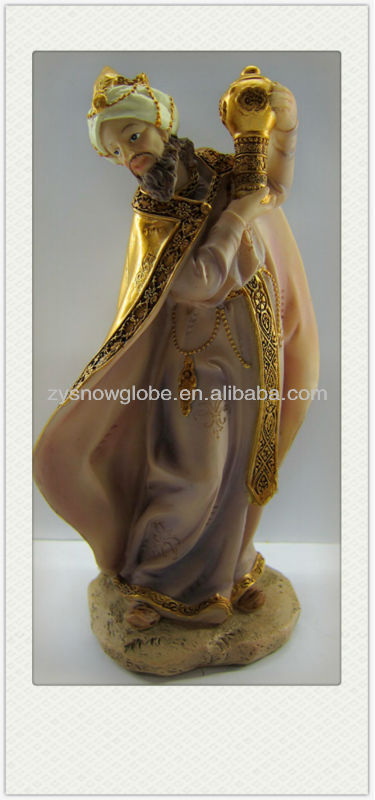 Religious indoor christian statue