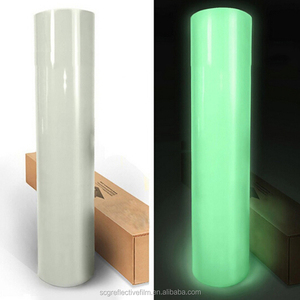 Fluorescent Green Self-adhesive Glow In Dark The Film