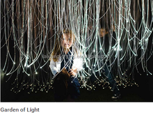 Safe fiber optic sensory lighting to captivate imaginations