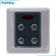 Zigbee 2.4GHz RF Wireless Remote Control Three Gang Light Switch