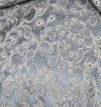 2018 A/W design raschel lace fabric nylon lace for garment