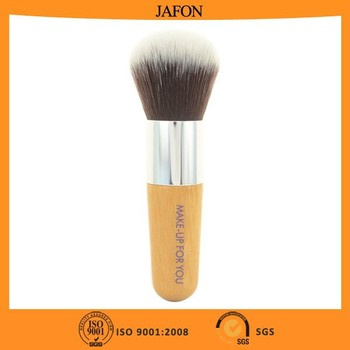 Bamboo handle synthetic kabuki powder brush
