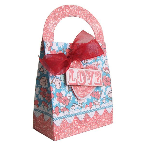 Low Cost Production Decoration Valentine Gift Bags