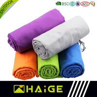 High Absorption colorful wholesale microfiber yoga towel custom china suppliers