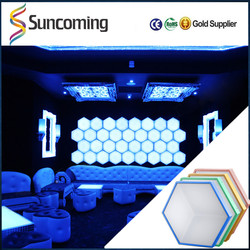 3D Disco Stage Effects Desco Dj KTV Indoor LED Bubble Wall Decoration Lights