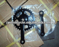 black steel 32T bicycle chain wheel crank for sale