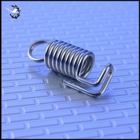 Custom Hot Selling Stainless Steel Double Hook Coil Small High Tension Spring
