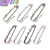 Wholesale Nickle Free Quality Assorted Sizes Silver Plated Brooch Pins