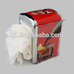 2017 Hotsales Newest design tissue box with digital clock