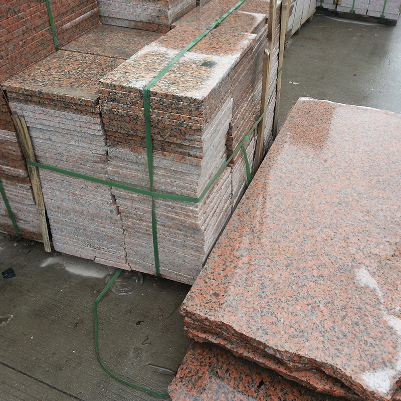 China Manufacturer Guangxi Pink Porrino Granite Kitchen Red Granite G564 Ruby Red Granite