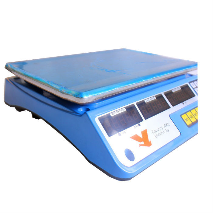 YZ-967 more color housing 40kg digital price computing corner weight scales