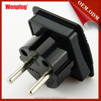 Made in China CE,ROHS UK to Europe AC power adapter plug converter