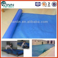 swimming pool durable blue color swim spa cover
