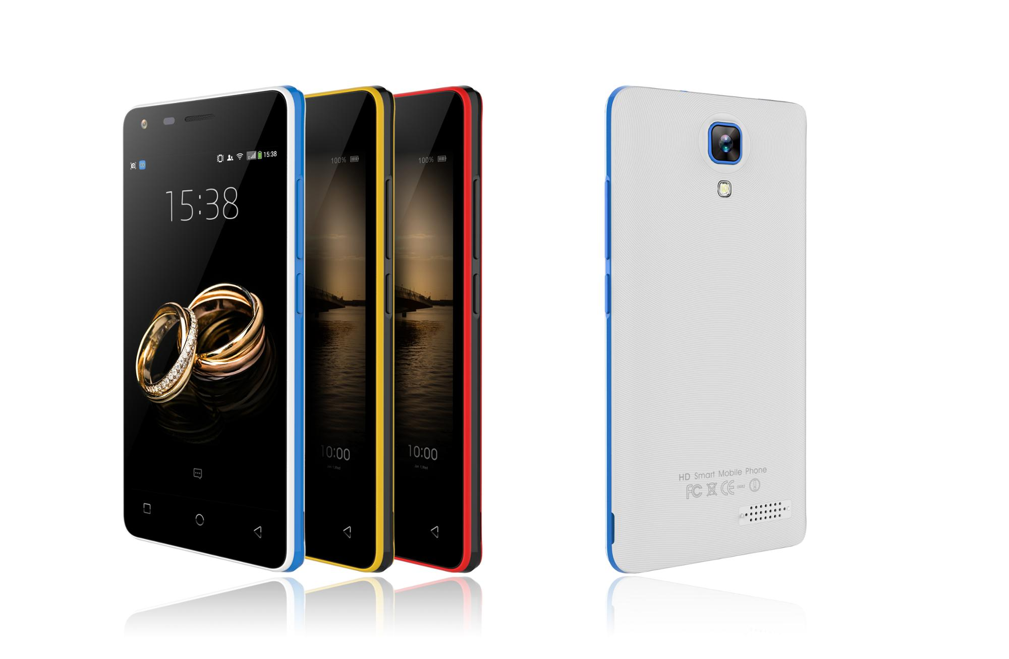 2SIM cheap smartphone with low cost from China factory