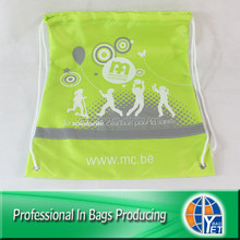 New coming lead-free back pack sack cinch custom kids school bags