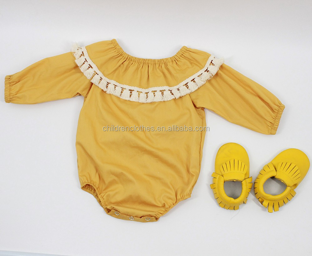Japan baby clothes wholesale girl crochet romper