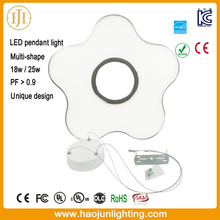 LED circle ring Light Modern Suspension Light 25w LED pendant Light