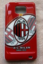 Italy Football AC Milan Phone Case Cover for SAMSUNG GALAXY S2 ii i9100