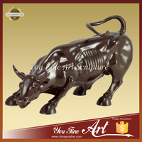 Large Bull Bronze Sculpture For Garden Decoration