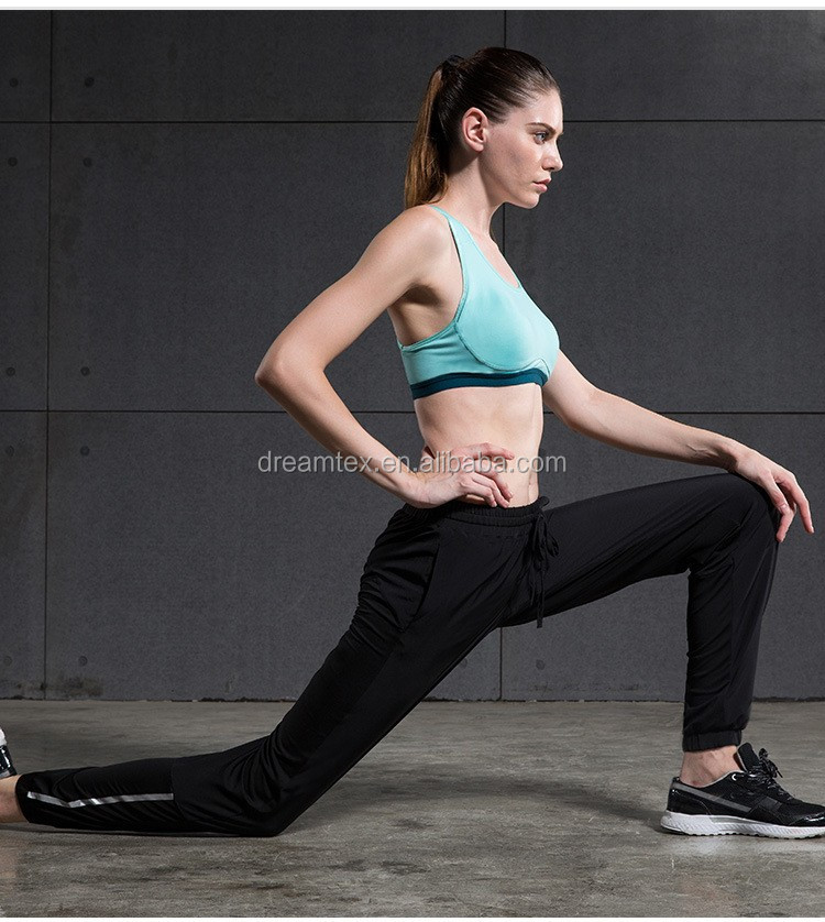 Hot sale women fashion yoga pants tight slim gym wear womens jogger pants