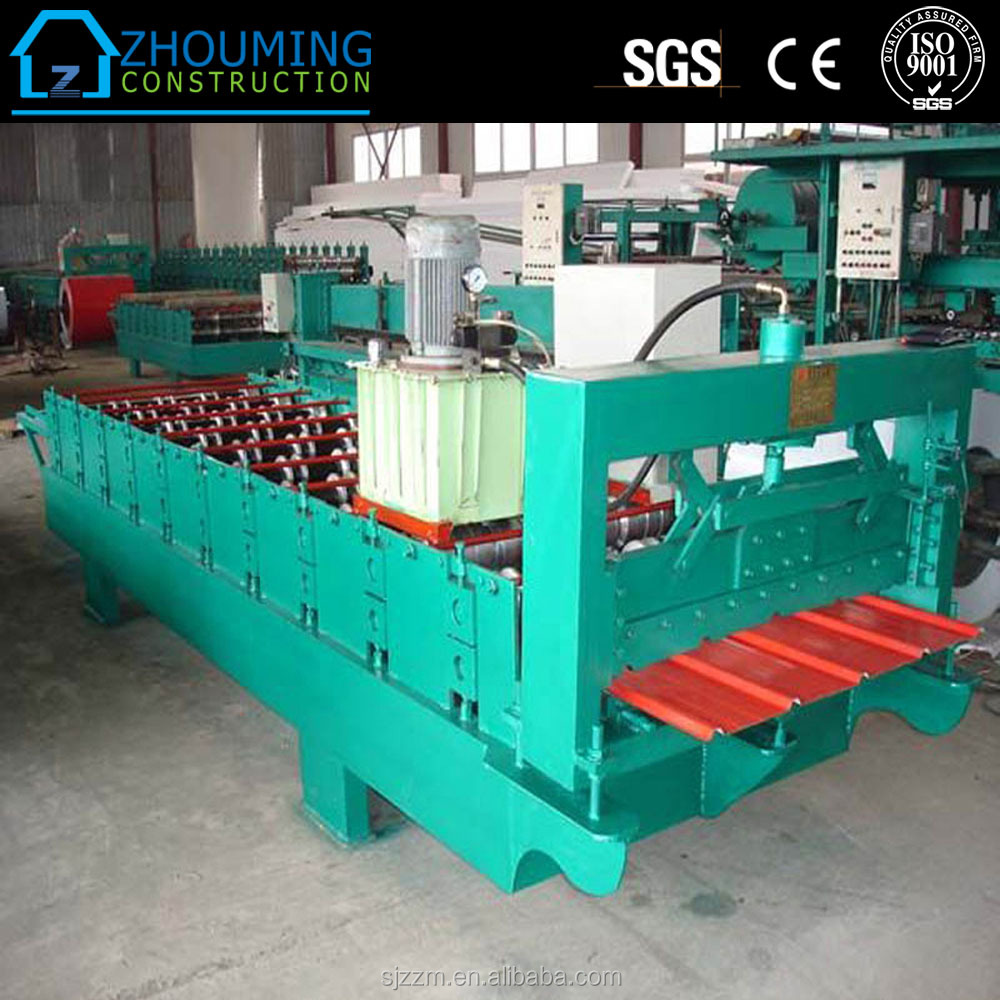 h-beam welding machine(corrugated web plate) 312 roof tile color steel roll forming machine