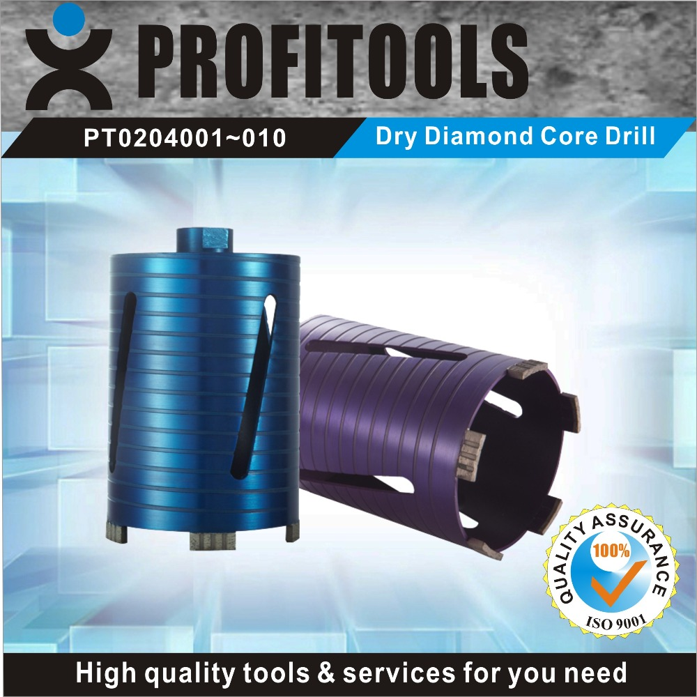 professional quality dry diamond core drill bits for granite marble glass from factory supply