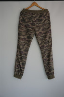 Fashion camouflage mens trousers