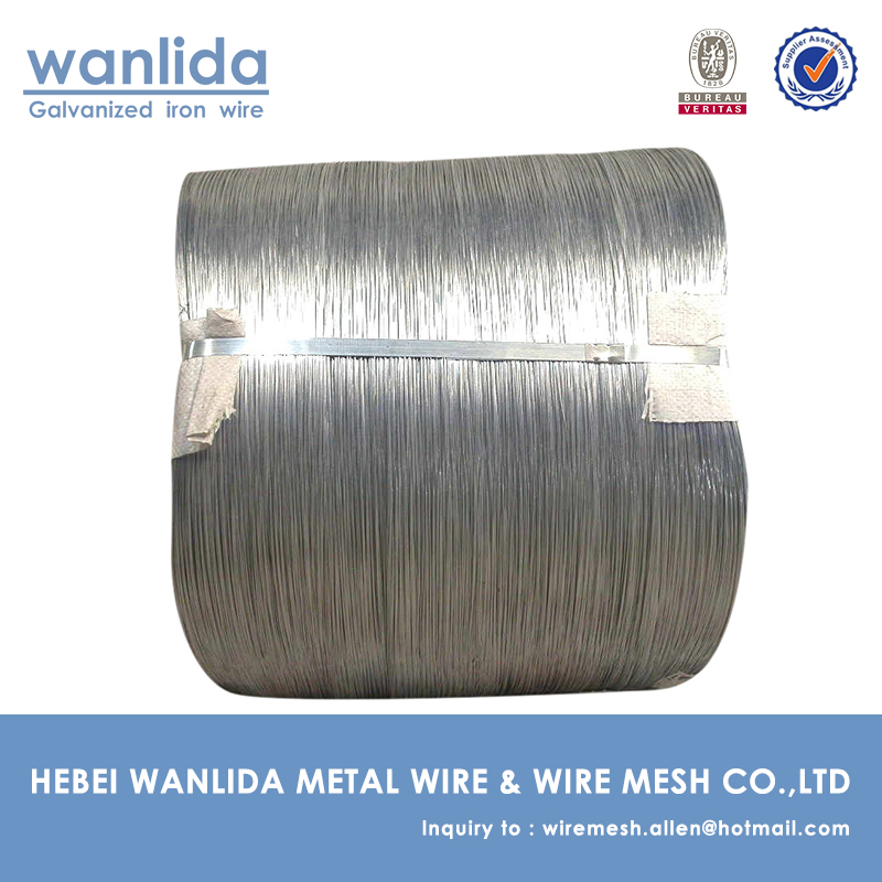 Low - carbon Galvanised Steel Wire & Heat - treated Galvanized Woven Wire