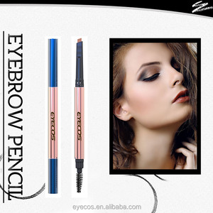 hot selling square tip single ended eyebrow pencil