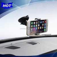 High Quality PC Material Non-skid Sticky Suction Cup Dash Windscreen Cell Phone Mount