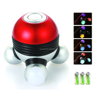 UFO Portable Mini Electric Body Vibrating Massager/Colorful Hand Grip Massager