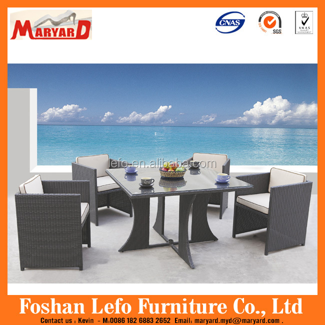 Luxury Cheap Round Table And Chair Rattan Philippine Dining Table Set