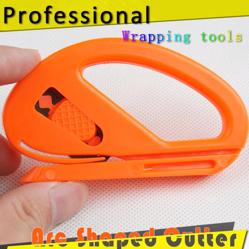Arc shaped cutter for vinyl film car wrap cutting, car tinting film tools <strong>knife</strong>