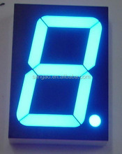Custom 7 segment led display for countdown timer