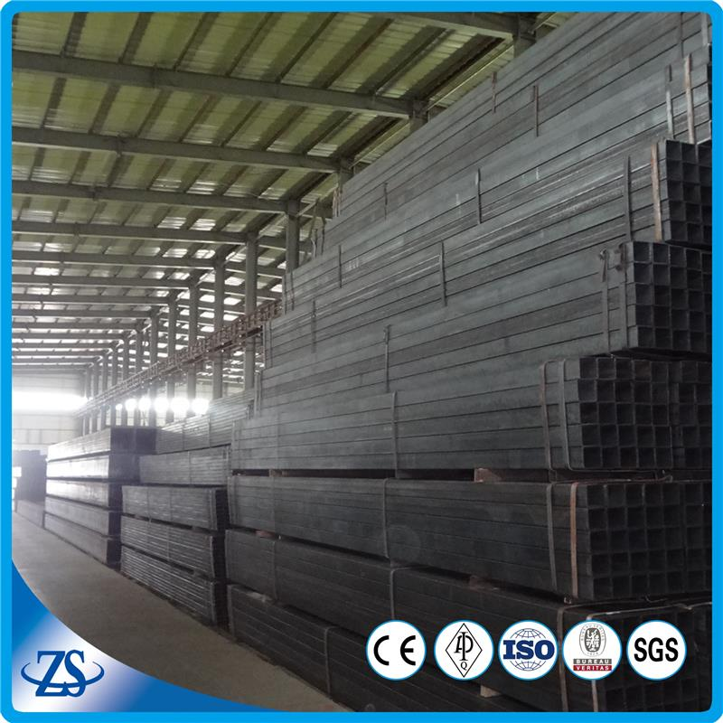 cold rolled black annealed galvanized rectangular hollow section with steel pipe supplier