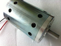 78ZYT high torque high speed DC Motors 10000rpm no load, IP00 for cooling, option for internal fan