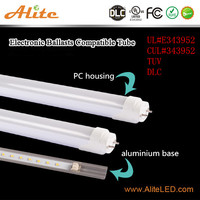 DLC UL cUL High lum 120lm/w Ra80 18w led tube 1200mm tube led light