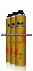 750 ml high expansive spray canned polyurethane pu foam sealant for construction