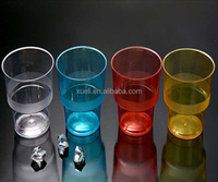 ps 9oz food safe process of plastic cup making , eco-friendly plastic urine cup ps