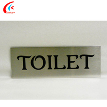 Customized Shape/Sizes Engrave Numbers Etching Metal Letters For Door Plates