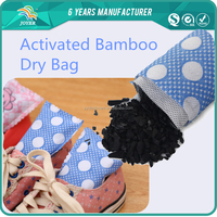Nature bamboo charcoal bag shoe odor absorber