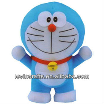 LE-A13031814 blue soft cat Doraemon plush stuffed dora toys