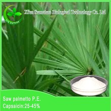 100% natural organic Saw Palmetto Fruit Extract