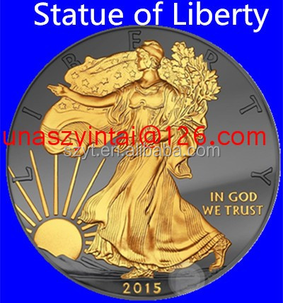 Gold Eagle Replica Coins American 2016 New Product for Statue of Liberty Coin